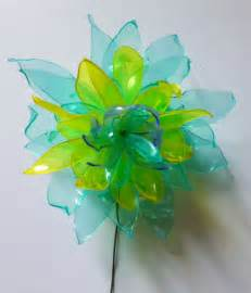 Plastics Bottles Flower Crafts