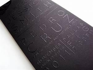 best 25 black wedding invitations ideas on pinterest With wedding invitations thermography vs letterpress