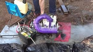 Running Sea Doo Jet Ski  Rotax  Motor