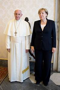 Merkel: Pope wants her to fight to save Paris climate deal ...