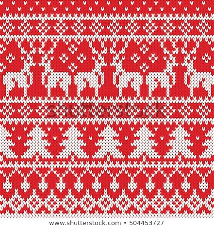 Shop sweater pattern mugs created by independent artists from around the globe. Christmas Sweater Design Seamless Knitting Pattern Stock ...