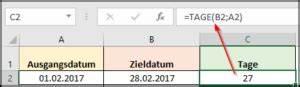 Datumsdifferenz Berechnen : wie kann ich in excel die tage berechnen office ~ Themetempest.com Abrechnung