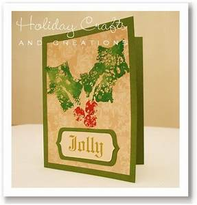 Infantil EducArte Handmade Christmas Card Ideas Sponge