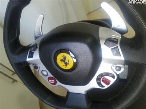 volante 458 italia an 225 lise volante thrustmaster vibration gt