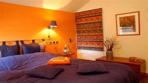 autumn bedroom decor best paint color burnt orange orange
