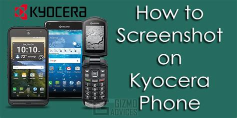 how to screenshot on kyocera android smartphone all models
