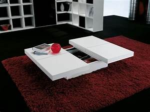 Table De Salon Moderne : tables basses design pour salon pas cher ~ Preciouscoupons.com Idées de Décoration