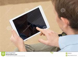 Person Holding Digital Tablet Stock Photo - Image: 38999550