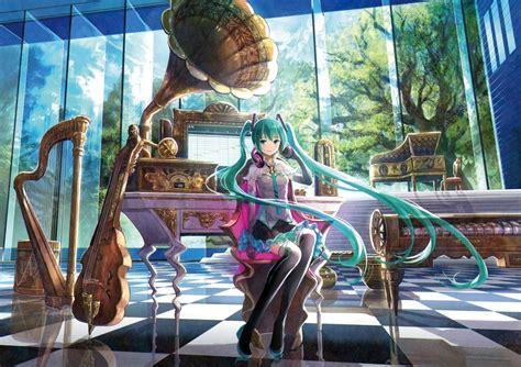 Anime Violin Wallpaper - anime hatsune miku vocaloid musical instrument