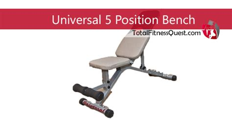 Universal Five Position Weight Bench by Universal 5 Position Weight Bench Review 2019