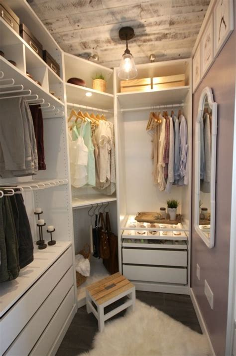Small Room Walk In Closet by Closet Makeover Reveal Justsi Closet Bedroom