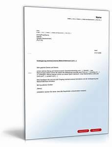 Mietvertrag Kündigungsfrist Mieter : verl ngerung gewerbemietvertrag mieter muster zum download ~ Lizthompson.info Haus und Dekorationen