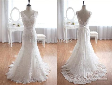 Wholesale Vintage Inspired Tulle Lace Wedding Dress