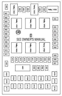 ford fuse box diagram    site
