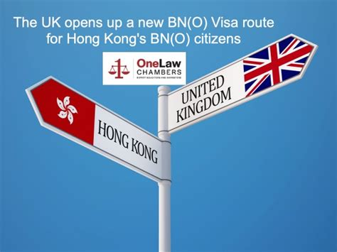 The UK opens up a new BN(O) Visa route for Hong Kong's BN ...