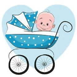 Cute Cartoon Baby Boy Clip Art