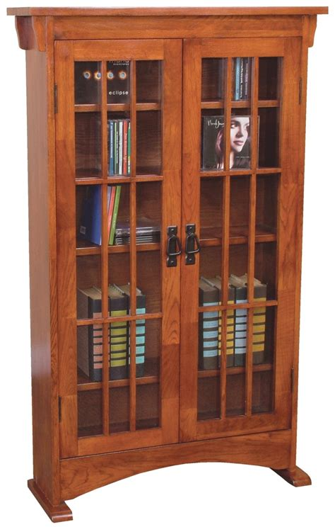 cd storage cabinet  doors woodworking projects plans