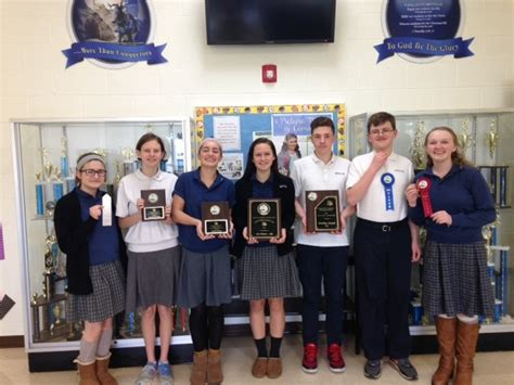 gloucester named gsacs academicfine arts competition champions