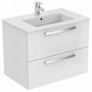ulysse e0542 meuble lavabo plan idealspec france With meuble ulysse ideal standard
