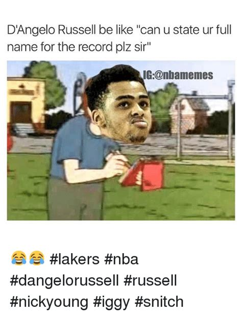 D Angelo Russell Memes - d angelo russell memes on sizzle nba and basketball
