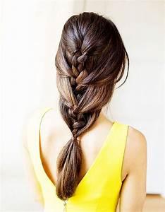Coiffure Pour Cheveux Mi Longs : des id es de coiffures faciles elle ~ Melissatoandfro.com Idées de Décoration