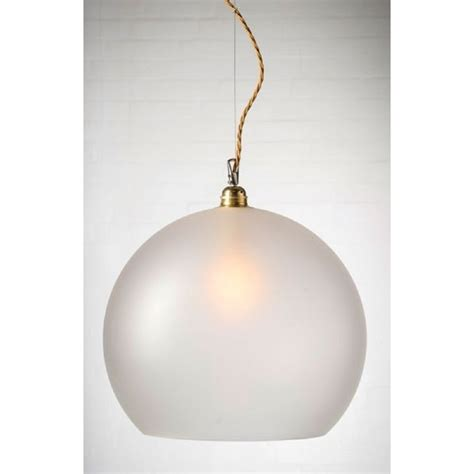 large frosted glass globe ceiling pendant light drop