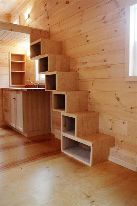 25  best ideas about Tiny house stairs on Pinterest   Tiny