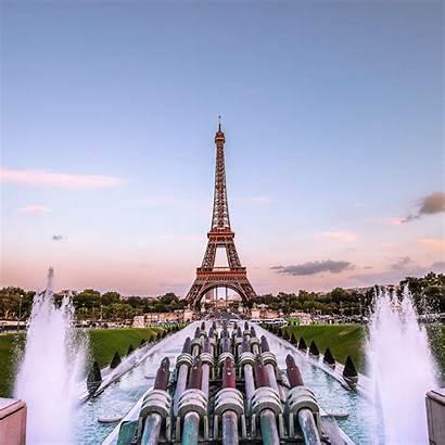 Tower Eiffel Paris Gold France Ipad Fountain