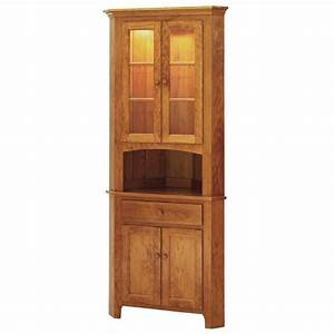 Shaker Corner Hutch Solid Hardwood Furniture Locally