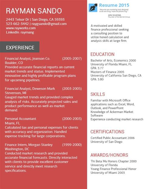 Free Cv Templates To Use by Pin By Resume 2015 On Resume 2015 Professional Resume