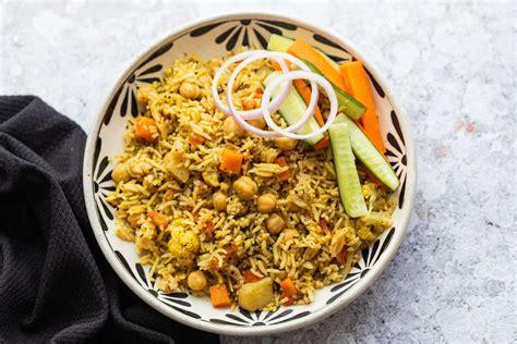 kabuli chana pulao chickpeas  rice  food story