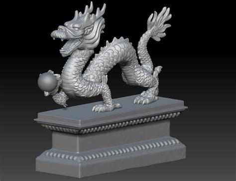 china dragon  model  printable obj stl ztl cgtradercom