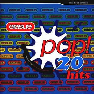 Caru00e1tula Frontal De Erasure Pop The First 20 Hits