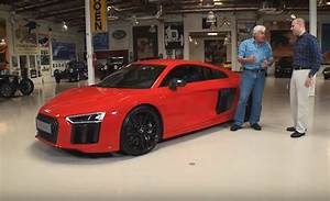 Audi Garage : jay leno drives the 2017 audi r8 video ~ Gottalentnigeria.com Avis de Voitures