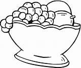 Fruit Coloring Basket Frutas Cesta Uvas Colorir Desenho Desenhos Imprimir Owoce Guache Tinta Tudodesenhos Winogrona Pintar Preschoolactivities Kolorowanki Papers Imagem sketch template
