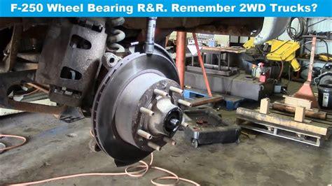 front wheel bearing noise youtube