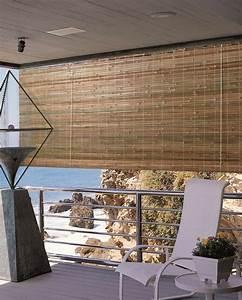 Indoor Outdoor Laguna Bamboo Natural Window Shade Blind