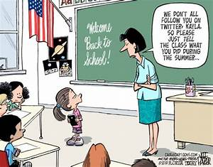 Parker cartoon: Back to school - The Idea Log