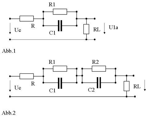 zeitkonstanten von mehreren parallel geschalteten rc