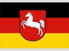 Fahne Niedersachsen, Flagge Niedersachsen, Fahnen