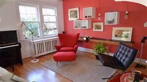 interieur couleur tendance pour un salon confortable youtube With couleur de mur tendance