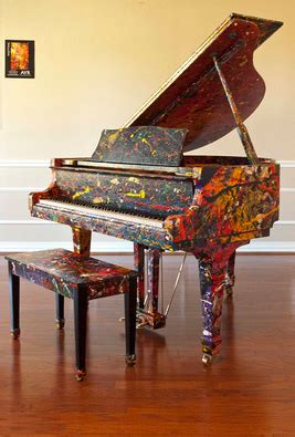 melissa ayr presents painted baby grand piano  energy