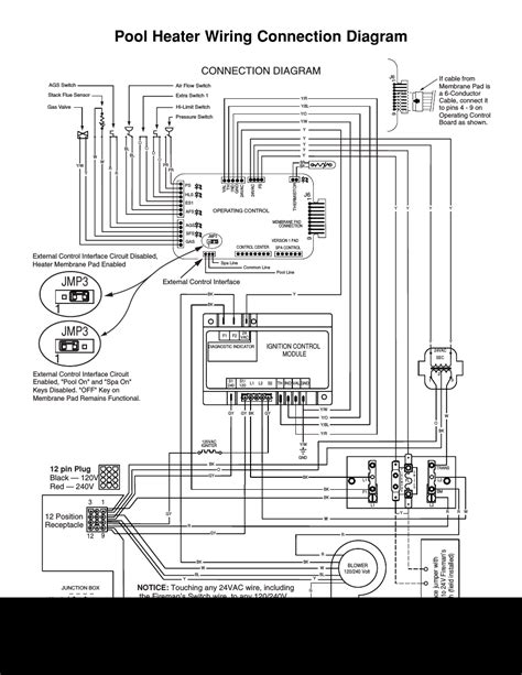 Wiring Diagram Heater by Pool Heater Wiring Connection Diagram Jmp3 1 Jmp3 1