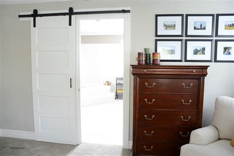 bathroom trim ideas barn door