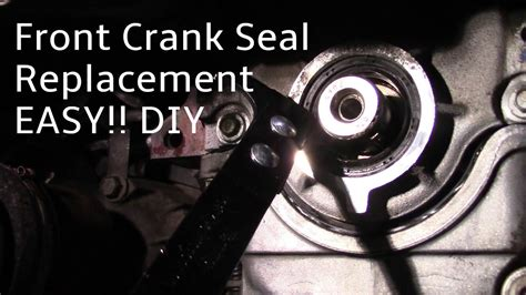 ford freestar front main seal replacement