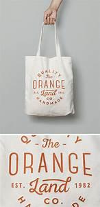 Canvas, Tote, Bag, Mockup