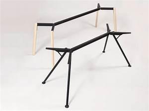 Tischgestell Metall Schwarz : modulor tischgestell y jetzt online kaufen modulor ~ Frokenaadalensverden.com Haus und Dekorationen