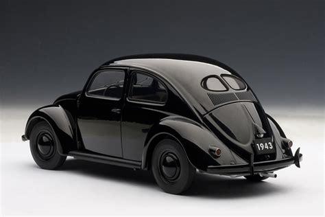black volkswagen bug autoart 1943 volkswagen beetle kafer limousine black