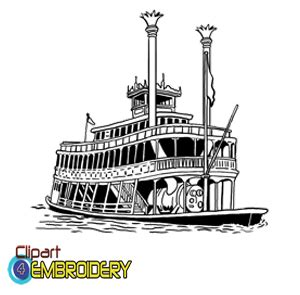 Steamboat Clipart by Steamboat Clipart 45