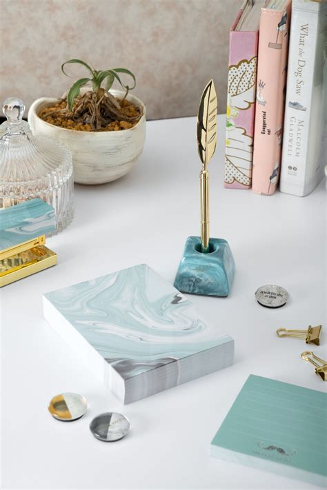 gold quill  teal stationery set  images teal